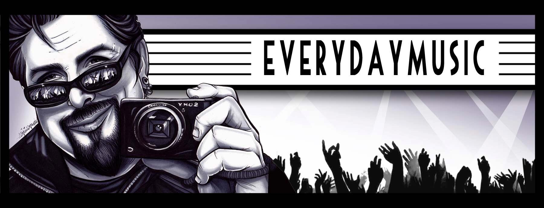 Every Day Music, 1000 songs, 1000 artists, 1000 days